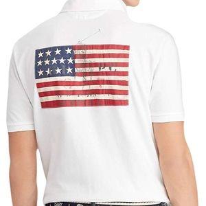 Ralph Lauren American flag polo